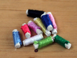 10 Coloured Threads-Dollshouse Hampshire