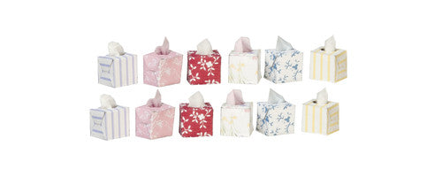 Tissues (1 box)-Dollshouse Hampshire