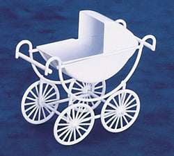 Baby Pram-Dollshouse Hampshire