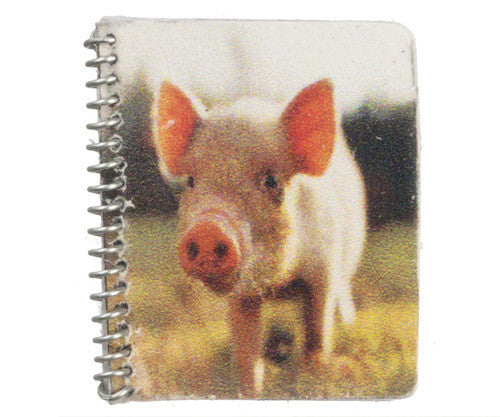 Pig Notebook-Dollshouse Hampshire