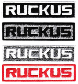 Ruckus Script Scooter Patch 8cm (4 Colors Available)