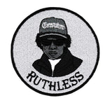 "Cool Eazy E ""Ruthless"" Iron On Patch 9cm"