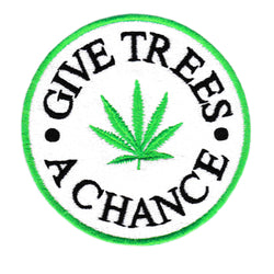 Give Trees A Chance Weed Patch 8cm