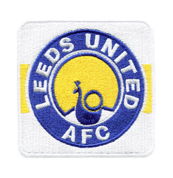 Leeds FC Football Club Patch 8cm