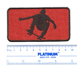 Skater Skateboarding Embroidered Patch 9.5cm