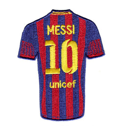 Messi Jersey Football Patch 9cm