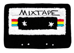 Cool Chenille Rock DJ Hip Hop Mixtape Cassette Patch 15cm