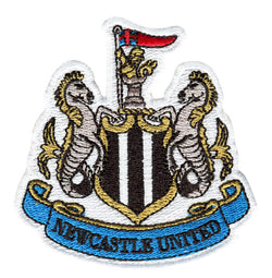 Newcastle United NUFC Football Club Patch 8cm