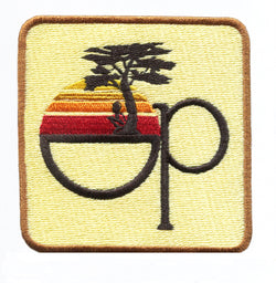 Cool Vintage Style OP Surfing Iron On Surfer Patch 8cm Applique