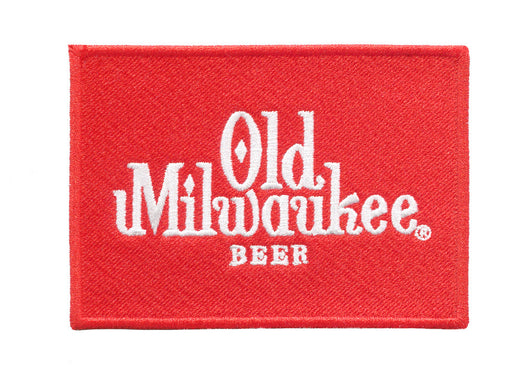 Vintage Style Old Milwaukee Beer Embroidered Patch 9.5cm