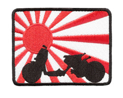 Rising Sun Ruckus Scooter Patch 9cm