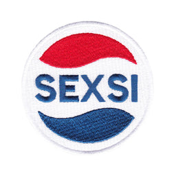 Cool Vintage Style SEXSI Iron On Patch 8cm