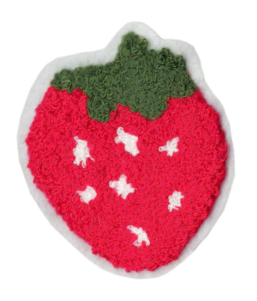 Cute Chenille Strawberry Patch 9cm