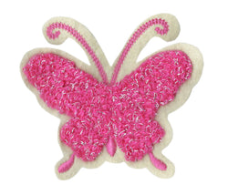 Cute Chenille Butterfly Patch 8.5cm