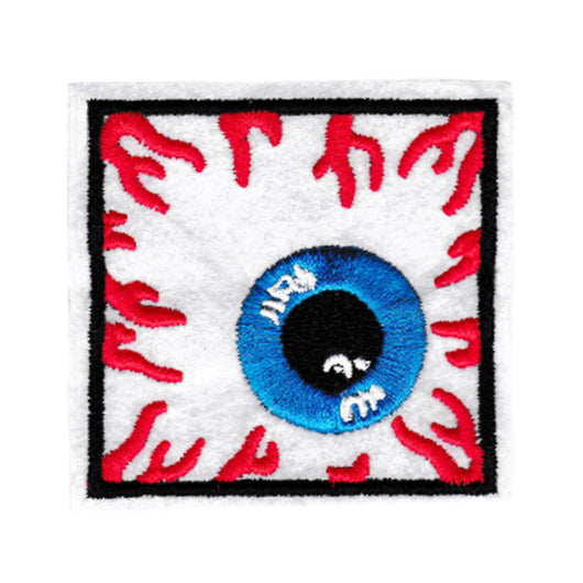 Square Bloodshot Eye Patch 6.5cm