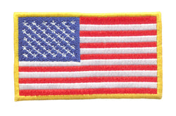 American Flag USA Patch 10cm