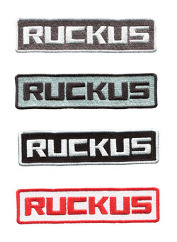 Ruckus Script Scooter Patch 12cm (4 Colors Available)