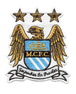 Manchester City FC Football Club Patch 8cm