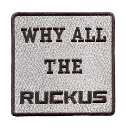 Why All The Ruckus Scooter Patch 9cm