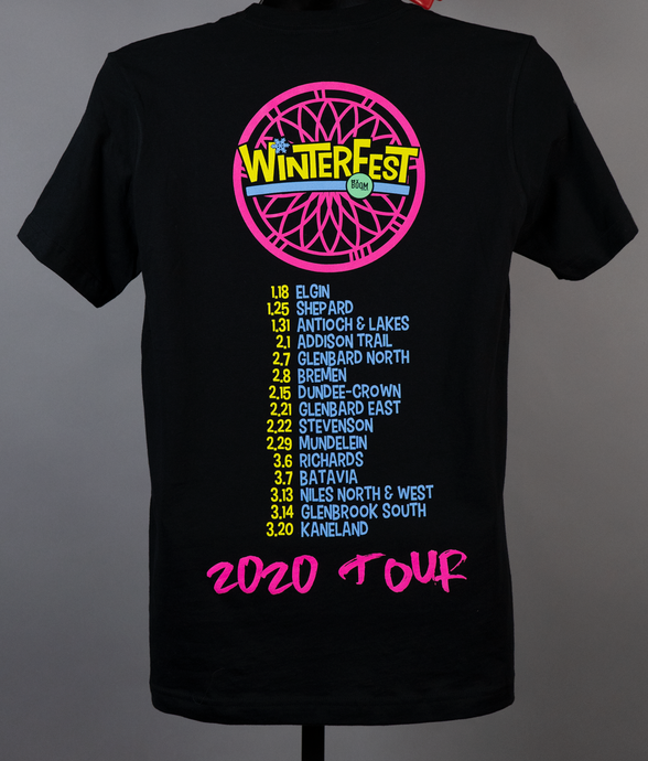 WinterFest 2020 Official Tour Shirt
