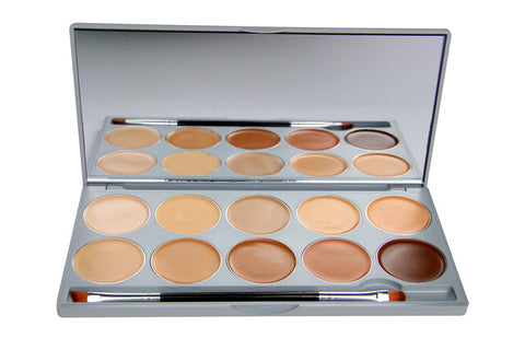 10 Colour Pro Contouring and Concealer Kit