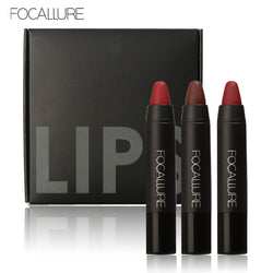 Focallure Matte Lipstick Set (3 pieces / set)