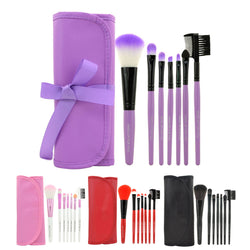 7 Piece Set Professional Makeup Brushes (4 Colours Available)
