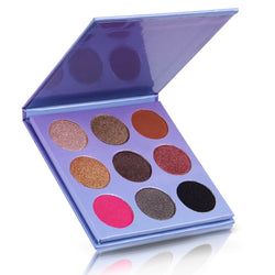 9 Colours Shimmer Eye Shadow Palette