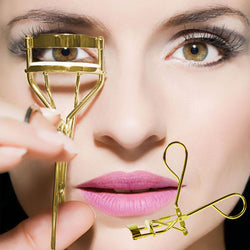 Gold Manual Eyelash Curlers