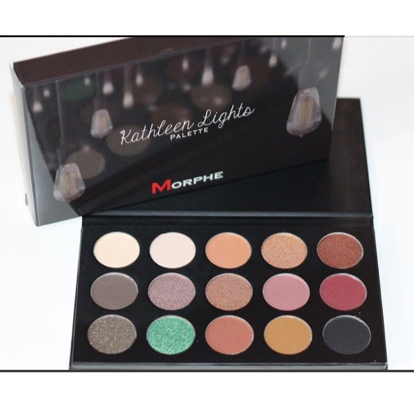 Morphe x Kathleen Lights 15 Colours Eye Shadow Palette