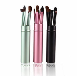 5 Pieces Portable Professional Makeup Brush Set ( 3 Colours Available! )