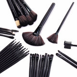 32 Pieces Professional Makeup Brush Set comes with Pouch ( 5 Colours Available! )