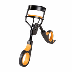 Orange - Black Manual Eyelash Curler