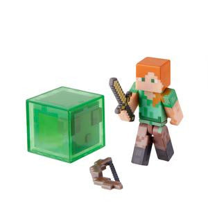 "Minecraft - 3"" Alex with Accessory"