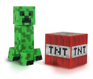 "Minecraft - 3"" Core Creeper with Accessory"