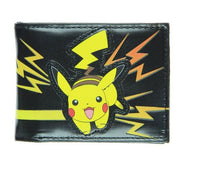 Pokemon Pikachu Electric Shock Bi-Fold Wallet