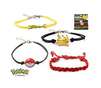 Women's Stainless Steel Pokemon Arm Party Bracelet Set