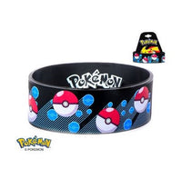 Pokemon PokeBall Youth Silicone Bracelet