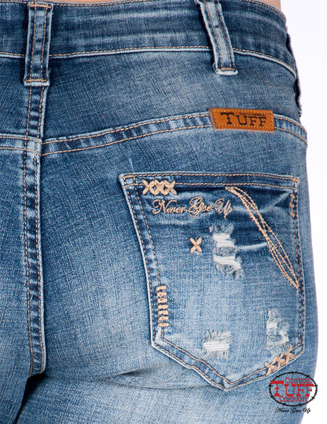 Cowgirl Tuff Happy Jeans