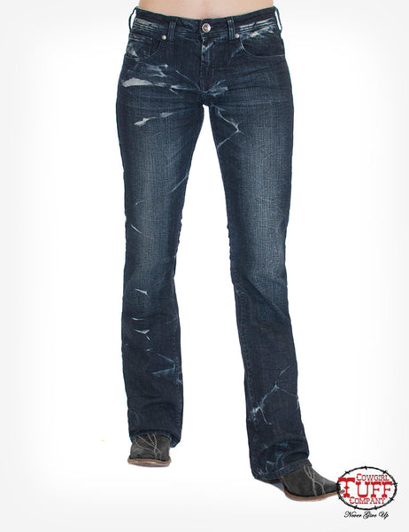 Cowgirl Tuff Makin' Waves Jean