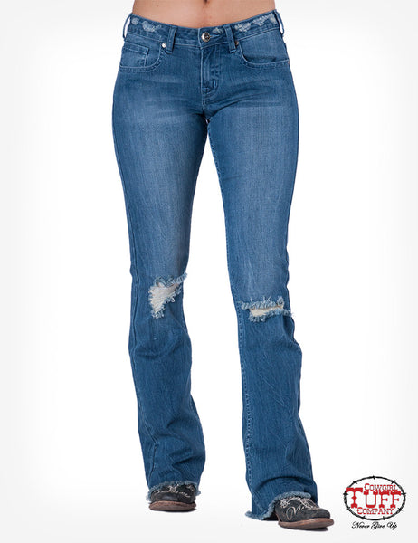 Cowgirl Tuff Tuff Blues Jean