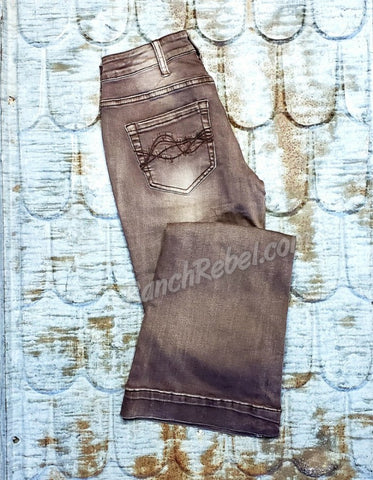 Cowgirl Tuff Dusty Road Trouser