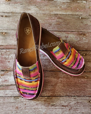 Ariat Cheetah Serape Cruiser #3825