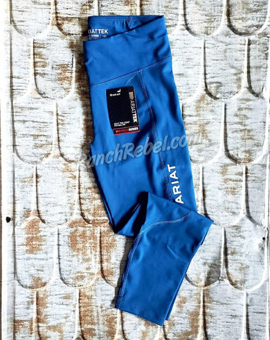 Ariat Tek Tights in Blue Opal #3853