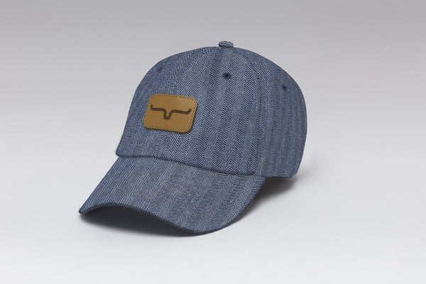 Kimes Ranch Indigo Stripes Cap #3590