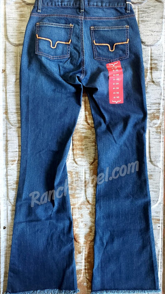 Kimes Ranch Lola Raw Hem Trouser