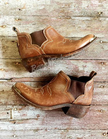 Liberty Black Drew Mossil Tan Bootie #3357