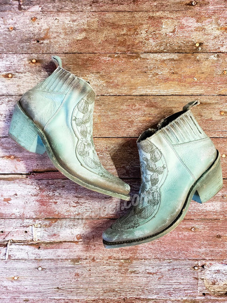 Liberty Black Yoshela Snow Turquesa Booties #3663