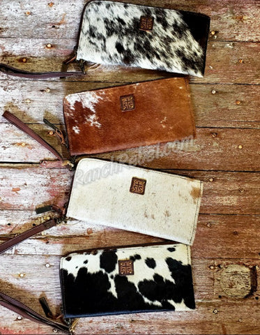 STS Cowhide Clutch #1902