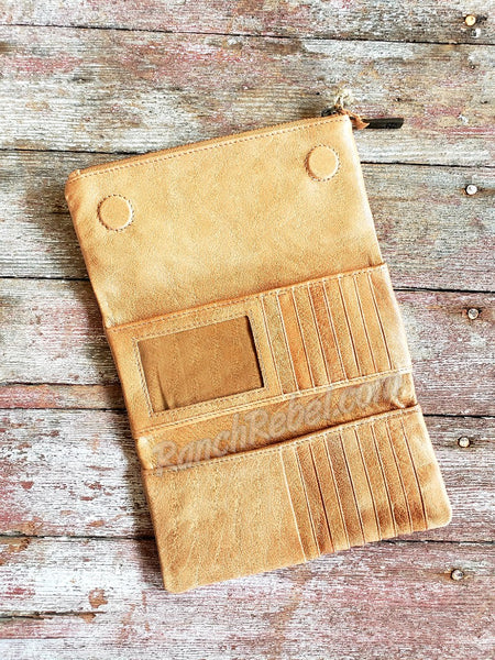 STS Mesa Wallet in Caramel #3207
